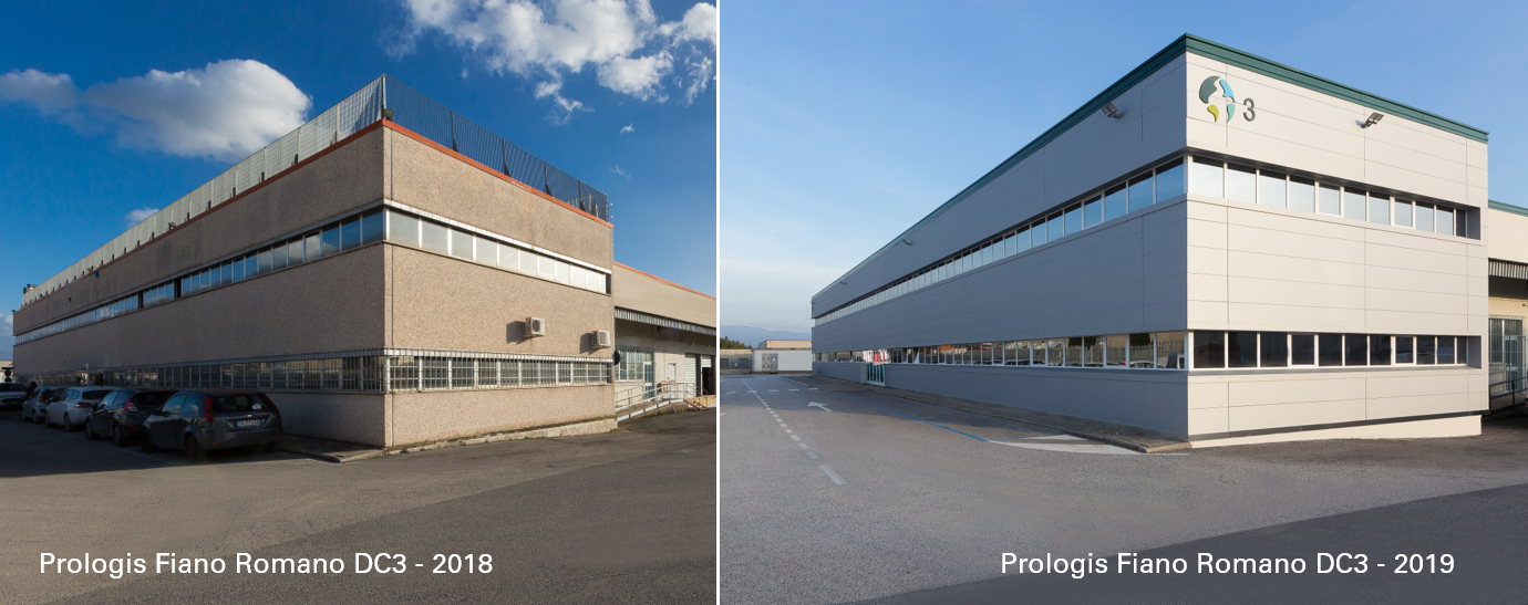 Fiano Romano Warehouse Before VS After