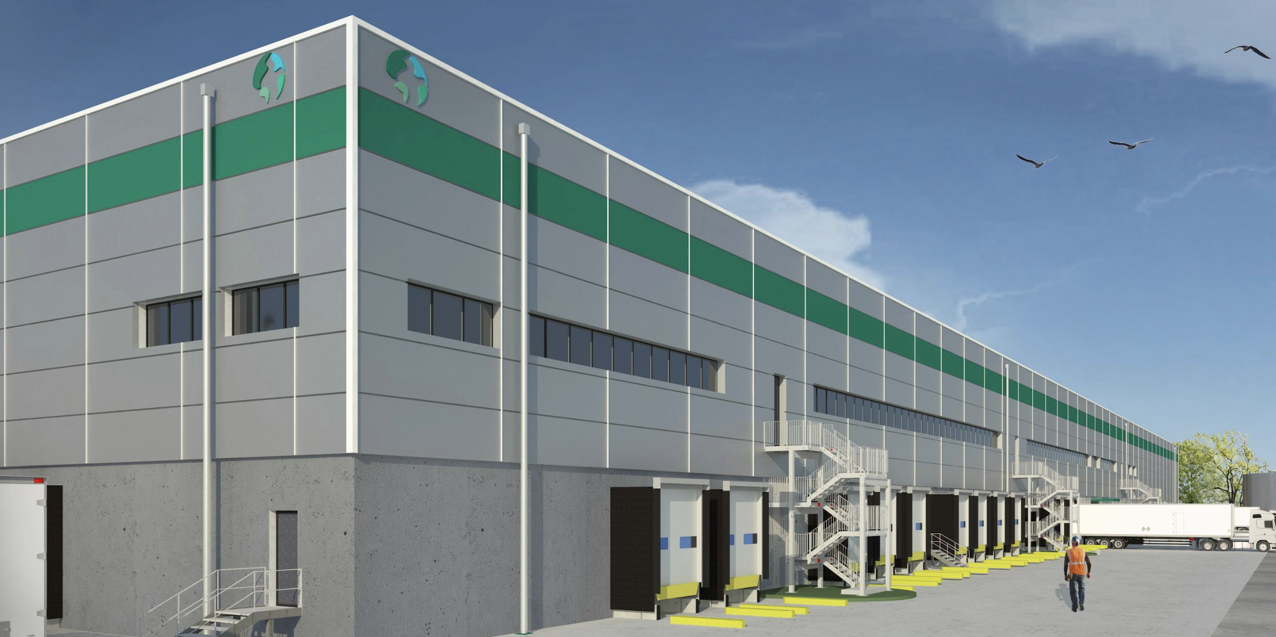 Prologis Begins Construction of Build-to- Suit Facility for Autostrasporti Vercesi at Pozzuolo Martesana