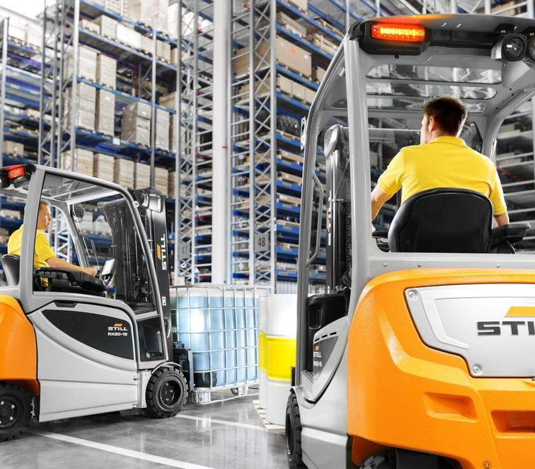 STILL Forklifts in a Prologis Warehouse